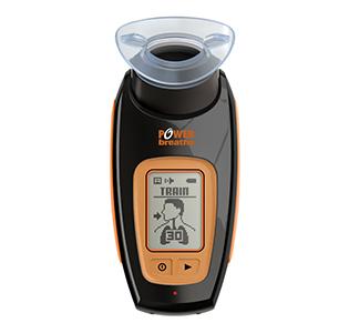POWERbreathe (パワーブリーズ) K5 PC連動デジタル呼吸筋トレーナー