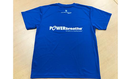 POWERbreathe (パワーブリーズ) Tシャツ